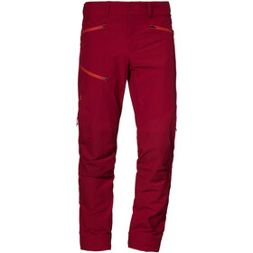 Schöffel Cismon Pantaloni Uomo, rosso